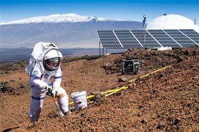 پایان ماموریت هشت ماهه فضانوردان در آتشفشان هاوایی