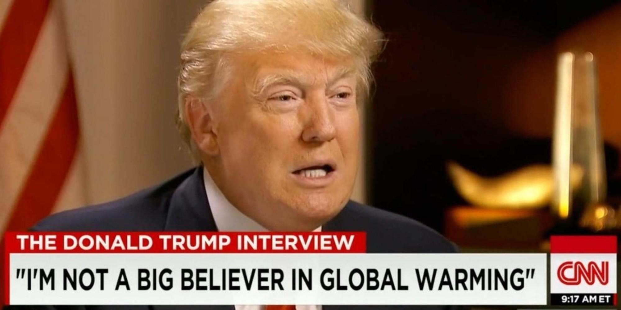 نامه دانشمندان زیستمحیطی به ترامپ