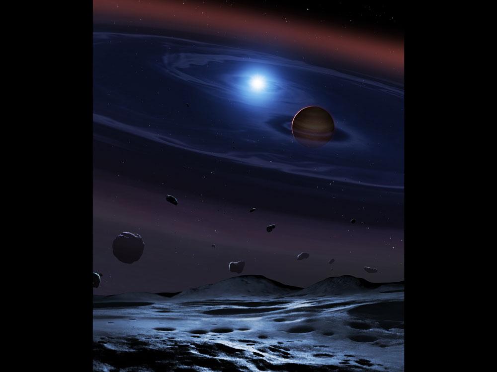 سرنخهایی از شکلگیری سیارههای سنگی در منظومههای دوتایی