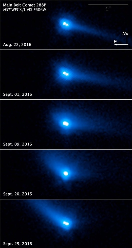 رصد نوع عجیبی از اجرام آسمانی در منظومه شمسی