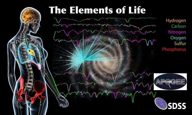پیدایش حیات از ستارهها